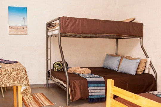 Quadruple room- Tri bunk